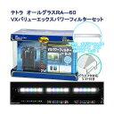 テトラ RA−60VX バリューエックスパワーフィルター+アクロ TRIANGLE LED GROW 600 セット お一人様1点限り 関東当日便