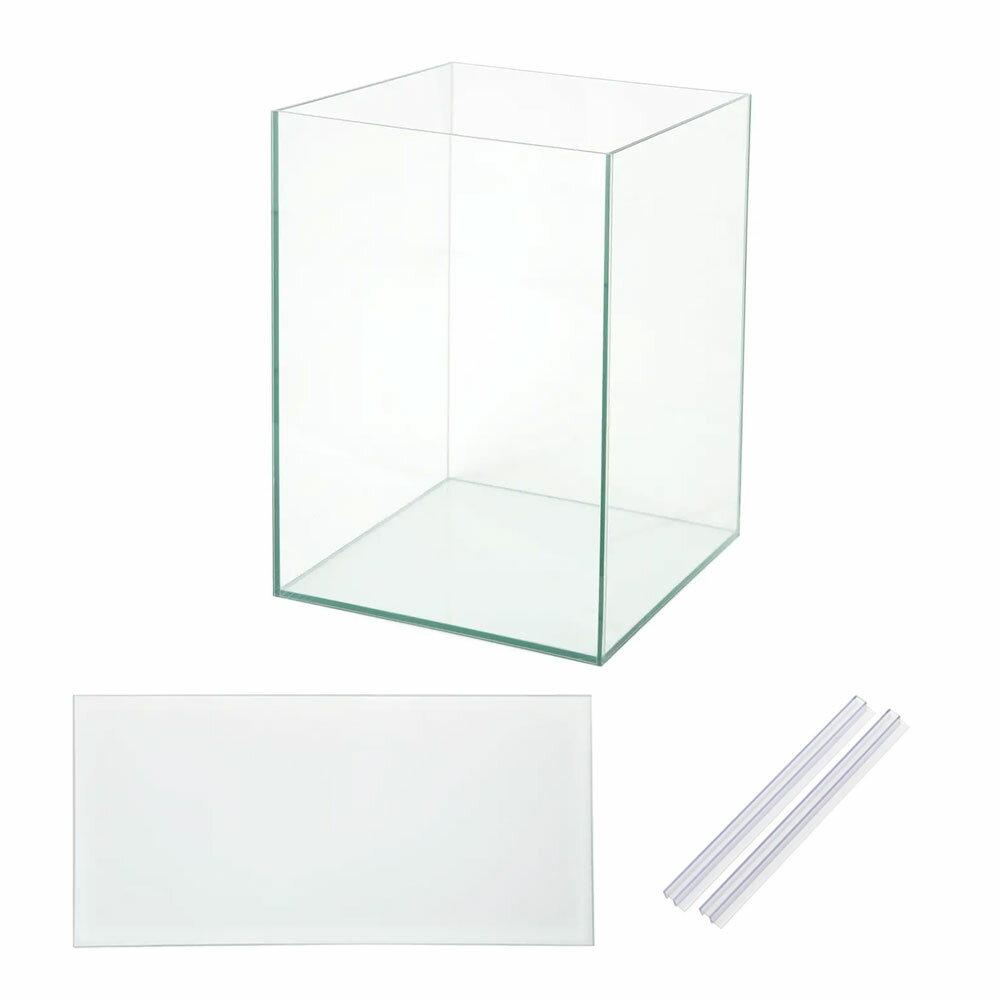 同梱不可・中型便手数料 オールガラス水槽 アクロ45NキューブH(45×45×60cm) フタ付き(単体) Aqullo 才数170【HLS_DU】