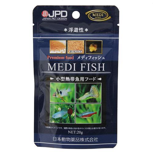 日本動物薬品 ニチドウ プレミアムフード メディフィッシュ 20g 熱帯魚 餌 エサ 関東当日便