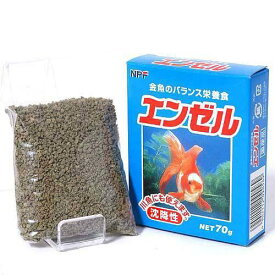 エンゼル 70g 2個入り 金魚のえさ 関東当日便
