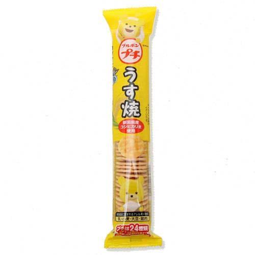 食品 ブルボン プチうす焼 36g おやつ スナック 2個 関東当日便