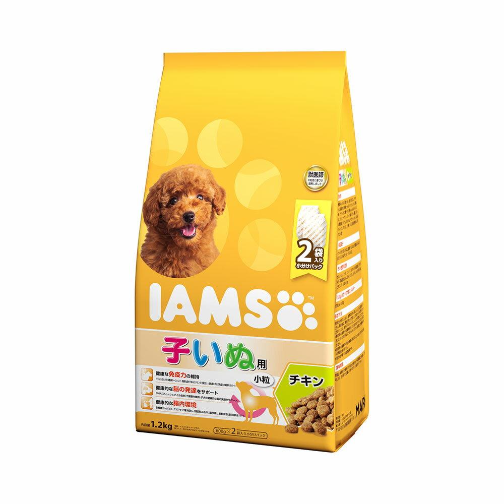 アイムス 12か月までの子いぬ用 チキン 小粒 1.2kg ドッグフード 正規品 IAMS 関東当日便