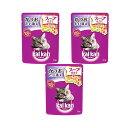 お買得セット カルカン パウチ スープ仕立て かつおたい添え 70g キャットフード カルカン 成猫用 3袋入 関東当日便