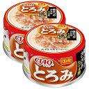 いなば CIAO(チャオ) とろみ 焼かつお ささみ カツオ節入り 80g 2缶入 関東当日便