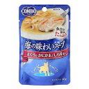 コンボ 海の味わいスープ まぐろとかにかまとしらす添え 40g 猫 フード 2個入 関東当日便