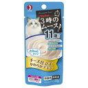 3時のムース 11歳から チーズ仕立て 25g キャットフード 超高齢猫用 3袋 関東当日便