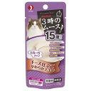 3時のムース 15歳から チーズ仕立て 25g キャットフード 超高齢猫用 3袋 関東当日便