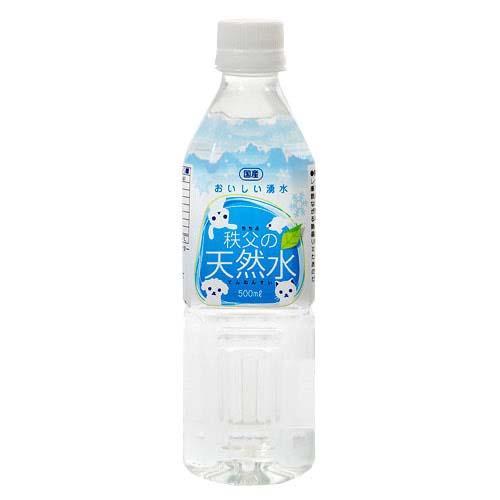 おいしい湧水 秩父の天然水 500mL 6本 国産 軟水 ナチュラルミネラルウォーター 関東当日便