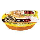 箱売り いなば 焼かつおカップスープ 高齢猫用かつお節・ほたて貝柱・ささみ入り 60g 1箱48個 関東当日便