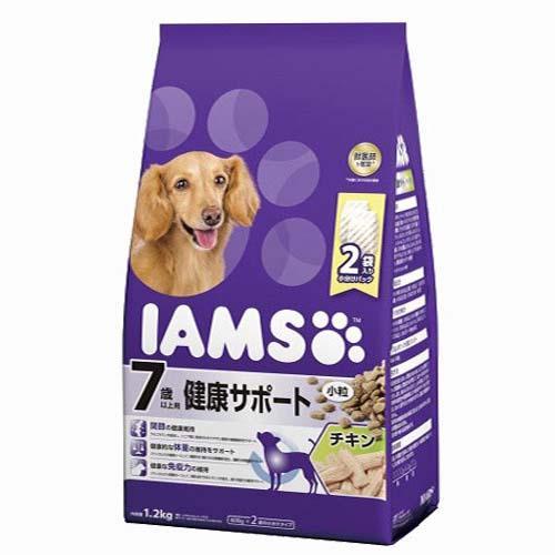 箱売り アイムス 7歳以上用 健康サポート チキン 小粒 1.2kg 1箱6袋入り【HLS_DU】 関東当日便