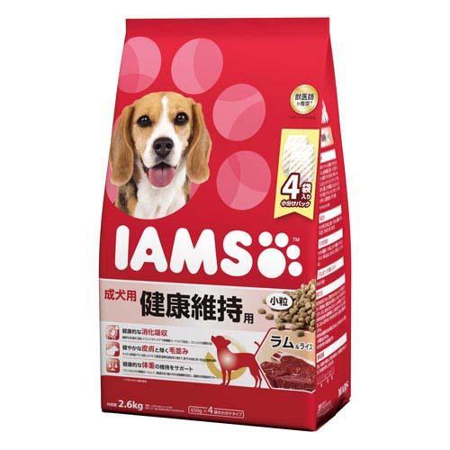 箱売り アイムス 成犬用 健康維持用 ラム&ライス 小粒 2.6kg 1箱4袋入り【HLS_DU】 関東当日便