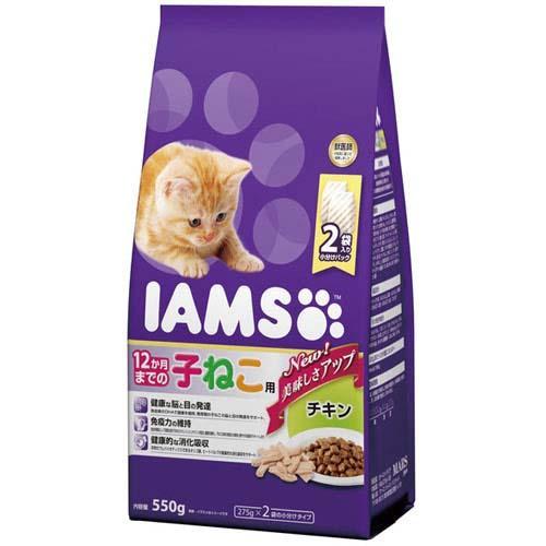 アイムス 12か月までの子ねこ用 チキン 550g 6袋入り【HLS_DU】 関東当日便
