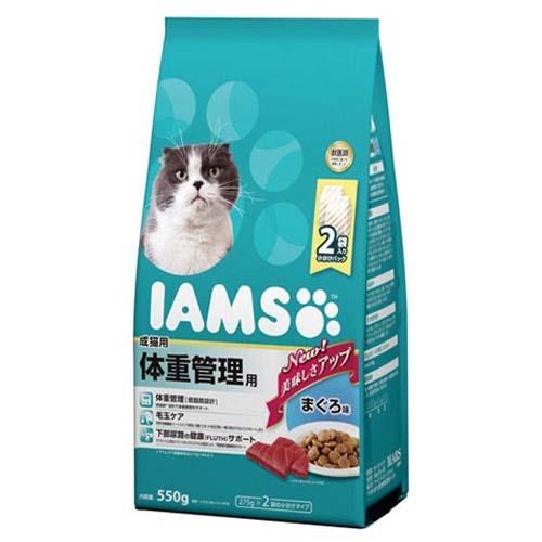 箱売り アイムス 成猫用 体重管理用 まぐろ味 550g 1箱6袋入り【HLS_DU】 関東当日便