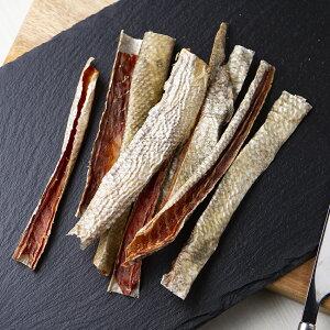 10袋セット 国産 鮭の皮のジャーキー 45g×10袋 無添加 無着色 犬猫用おやつ PackunxCOCOA 関東当日便