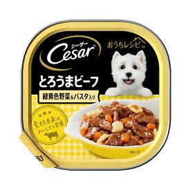 シーザー おうちレシピ とろうまビーフ 緑黄色野菜&パスタ入り 100g 8個 関東当日便
