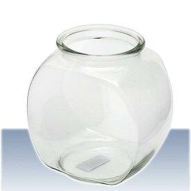 おしゃれな国産ガラス製 金魚鉢 3L 関東当日便