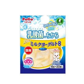 ペティオ 乳酸菌のちから ゼリータイプ リッチミルクヨーグルト風味 16g×20個入 関東当日便