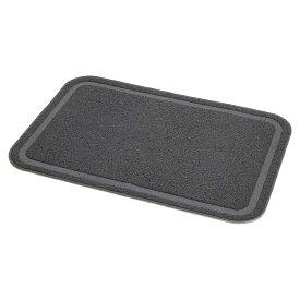 ペティオ necoco 猫トイレマット ワイドサイズ グレー petio_chanet 関東当日便