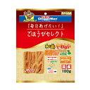 ドギーマン ごほうびセレクト 和鶏やわらか軟骨サンド ササミ&野菜 100g 関東当日便