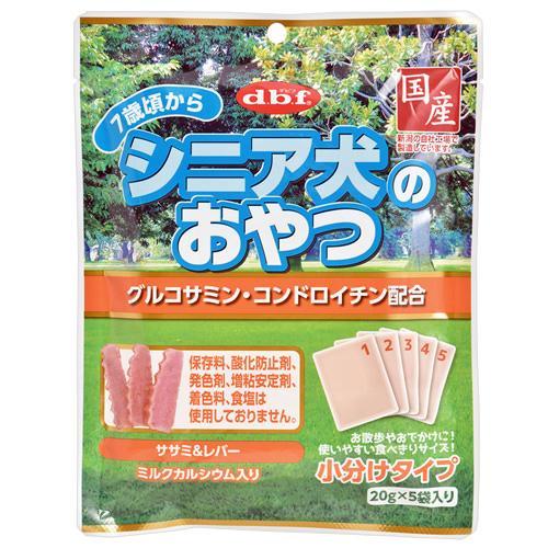 デビフ シニア犬のおやつ グルコサミン・コンドロイチン配合 100g(20g×5袋) 関東当日便