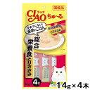 いなば ちゅ〜る 総合栄養食 とりささみ 14g×4本 関東当日便