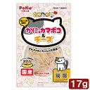 ペティオ ねこあつめ かに味カマボコ&チーズ 17g 関東当日便