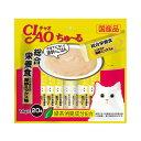 いなば ちゅ〜る 総合栄養食 とりささみ 海鮮ミックス味 14g×20本 関東当日便