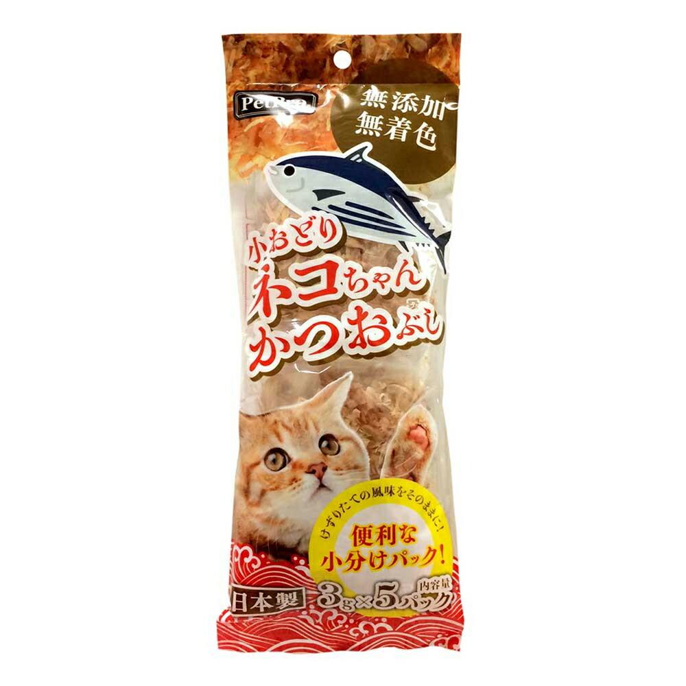 ペットプロ 小おどりネコちゃんかつおぶし 3g×5パック 関東当日便