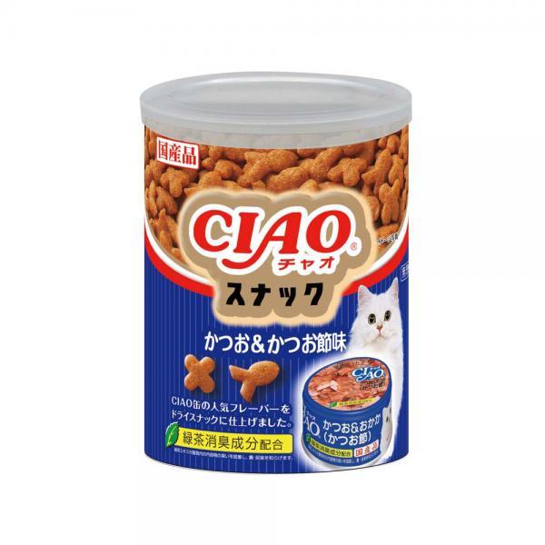 いなば CIAOスナック かつお&かつお節味 90g 関東当日便