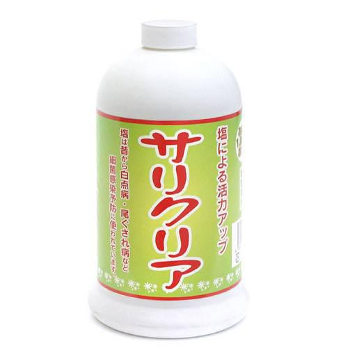 JUN サリクリア お徳用 1000mlボトル 観賞魚 塩 ミネラル 関東当日便