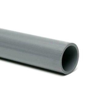塩化ビニールパイプVP4048cm(色:グレー)