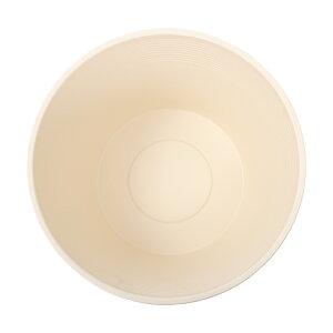 睡蓮鉢(メダカ鉢)ホワイト直径44cm高さ25cm軽量2kg、割れにくい、頑丈な厚み1.2cm関東当日便