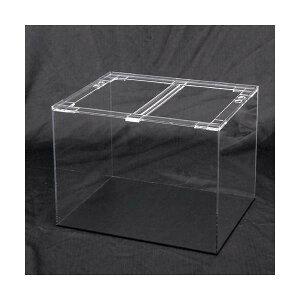 □メーカー直送 アクリル水槽 アクリルクリアタンク 底面板黒(60×45×45cm・板厚5×5×5mm) 60cm水槽 別途送料