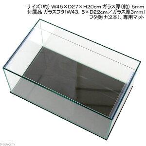 《お一人様1点限り》オールガラス水槽アクロ45フラット(45×27×20cm)(単体)●【関東当日便】