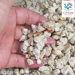 C.P.Farm直送ライブクラッシュコーラルロック18kg(約12.6L)バクテリア付き粉砕サンゴ砂(0.8個口相当)別途送料