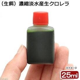 (海水魚)生餌 濃縮淡水産生クロレラ(25ml) 北海道・九州航空便要保温