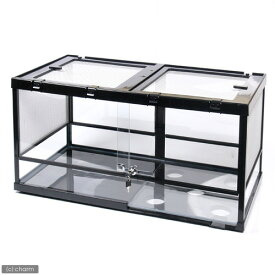 □(大型)みどり商会 ケースバイケース90L 別途大型手数料・同梱不可 爬虫類 飼育 ケージ ガラスケージ