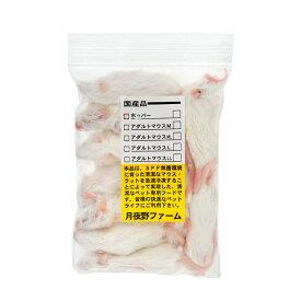 冷凍★ホッパーマウス(10匹) 月夜野ファーム 冷凍マウス 別途クール手数料 常温商品同梱不可