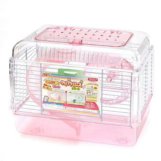 GEX Hamster KLIA Palace pink (22 x 31 x 24 cm) Hamster cage House Gex Kanto day sailings