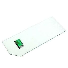 ニッソー 45cm水槽用ガラスフタ  上部フィルターを使用する時の104用 (幅417×奥行き162m×厚さ3mm) 関東当日便