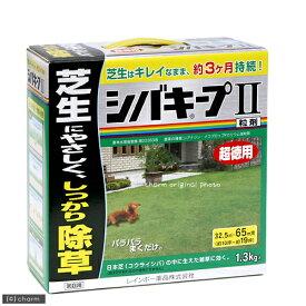 レインボー シバキープ2 粒剤 1.3kg 約3ヶ月効果持続 32・5〜65平方メートル(約10〜19坪) 散布器手袋つき 関東当日便