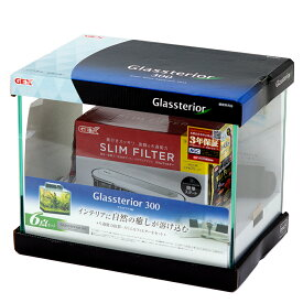 GEX 30cm水槽セット グラステリア300 6点セット 初心者 お一人様2点限り 関東当日便