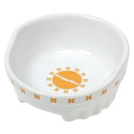 ドギーマン すべり止め付 便利なクローバー陶製食器 M 関東当日便