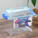 三晃商会 SANKO CLEAN CASE クリーンケース(SS)(185×110×150mm) プラケース 虫かご 飼育容器 関東当日便