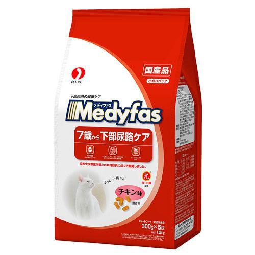 メディファス 7歳から下部尿路ケア チキン味 1.5kg(300g×5袋) 関東当日便
