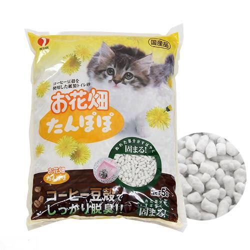 猫砂 お花畑 たんぽぽ 5L 猫砂 紙 固まる 燃やせる お一人様10点限り 関東当日便