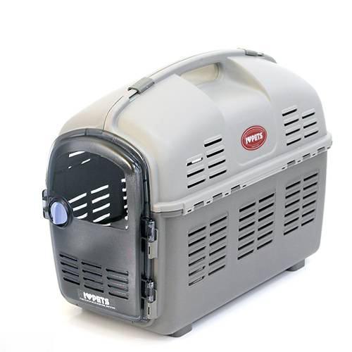 ボンビ エコノア2 ツートングレー 犬 猫 キャリーバッグ キャリーケース(7kgまで) 関東当日便
