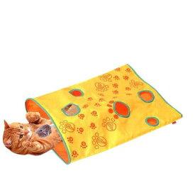 ペティオ じゃらし遊びのシャカシャカ通りぬけ袋 猫 猫用おもちゃ トンネル 関東当日便