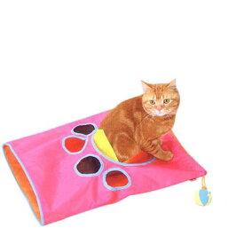 ペティオ おもちゃ遊びのシャカシャカ通りぬけ袋 猫 猫用おもちゃ トンネル 関東当日便