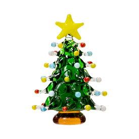 グラスコレクション ドットツリー グリーン 1個 クリスマス 関東当日便